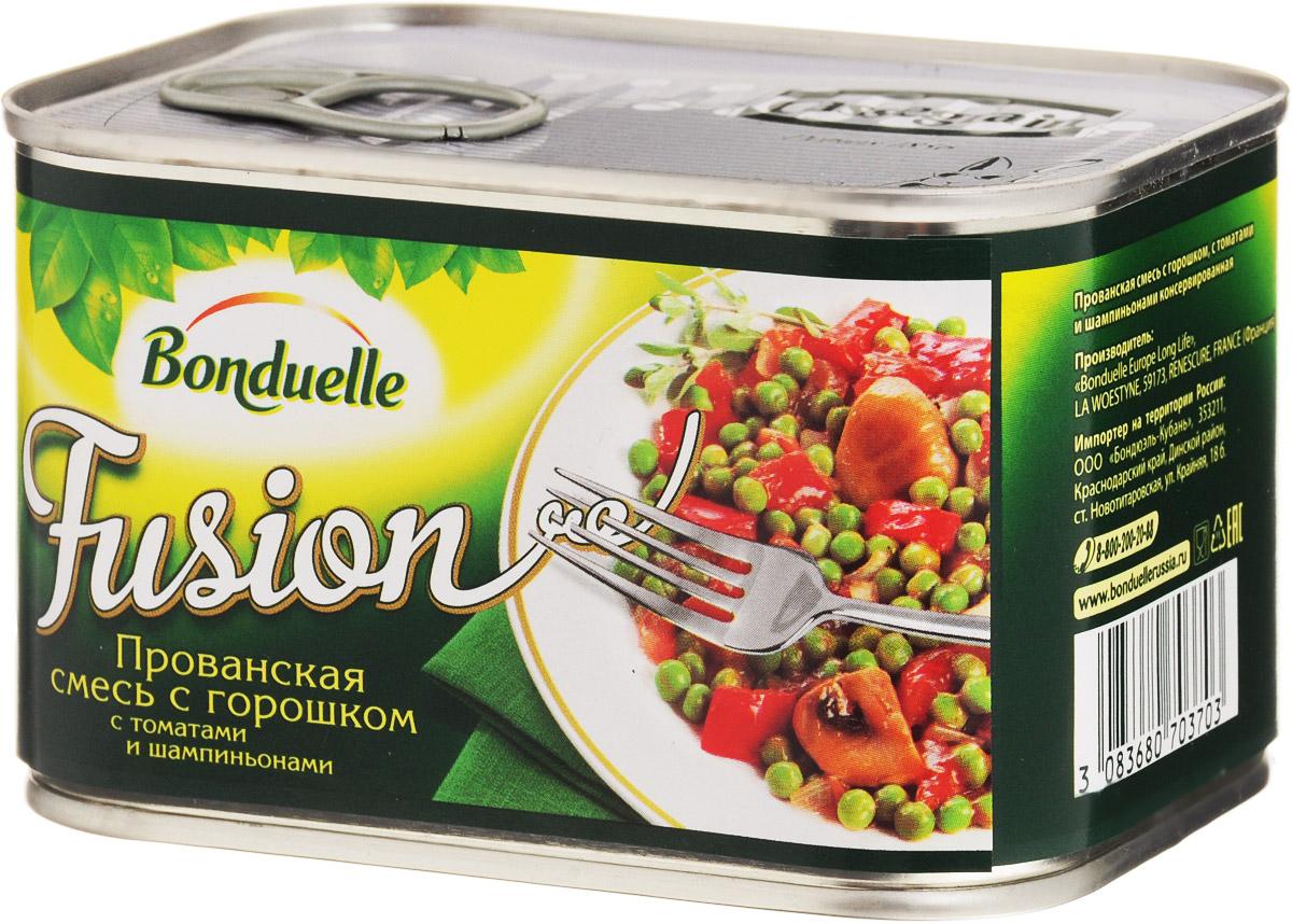 Bonduelle Прованская смесь с горошком с томатами и шампиньонами, 375 г4752Прованская смесь с горошком, с томатами и шампиньонами Bonduelle - это самые настоящие овощные деликатесы, созданные по изысканным рецептам европейской и колониальной кухни, которые сделают любой стол особенным. Наслаждение овощами, приготовленными с любовью по всемирно известным рецептам. Уважаемые клиенты! Обращаем ваше внимание, что полный перечень состава продукта представлен на дополнительном изображении.