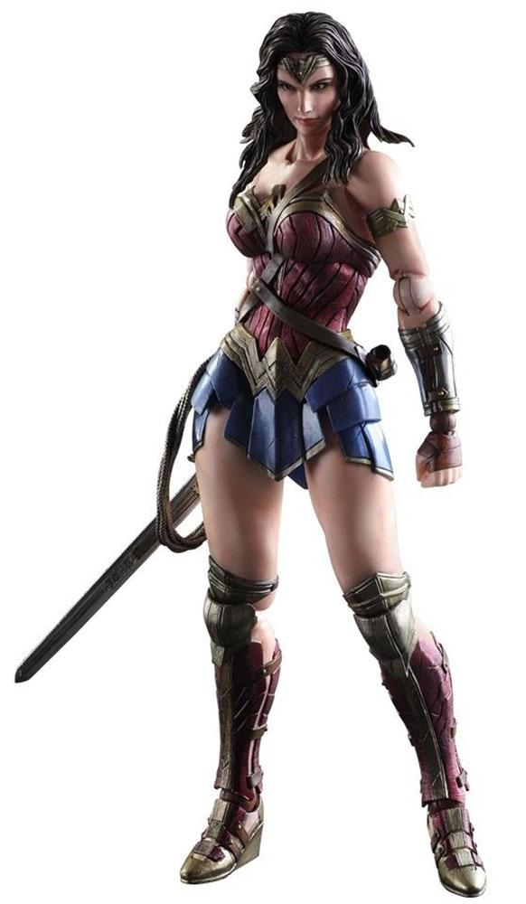 Batman v Superman: Dawn Of Justice. Фигурка Play Arts Kai Wonder Woman 27 см, Square Enix