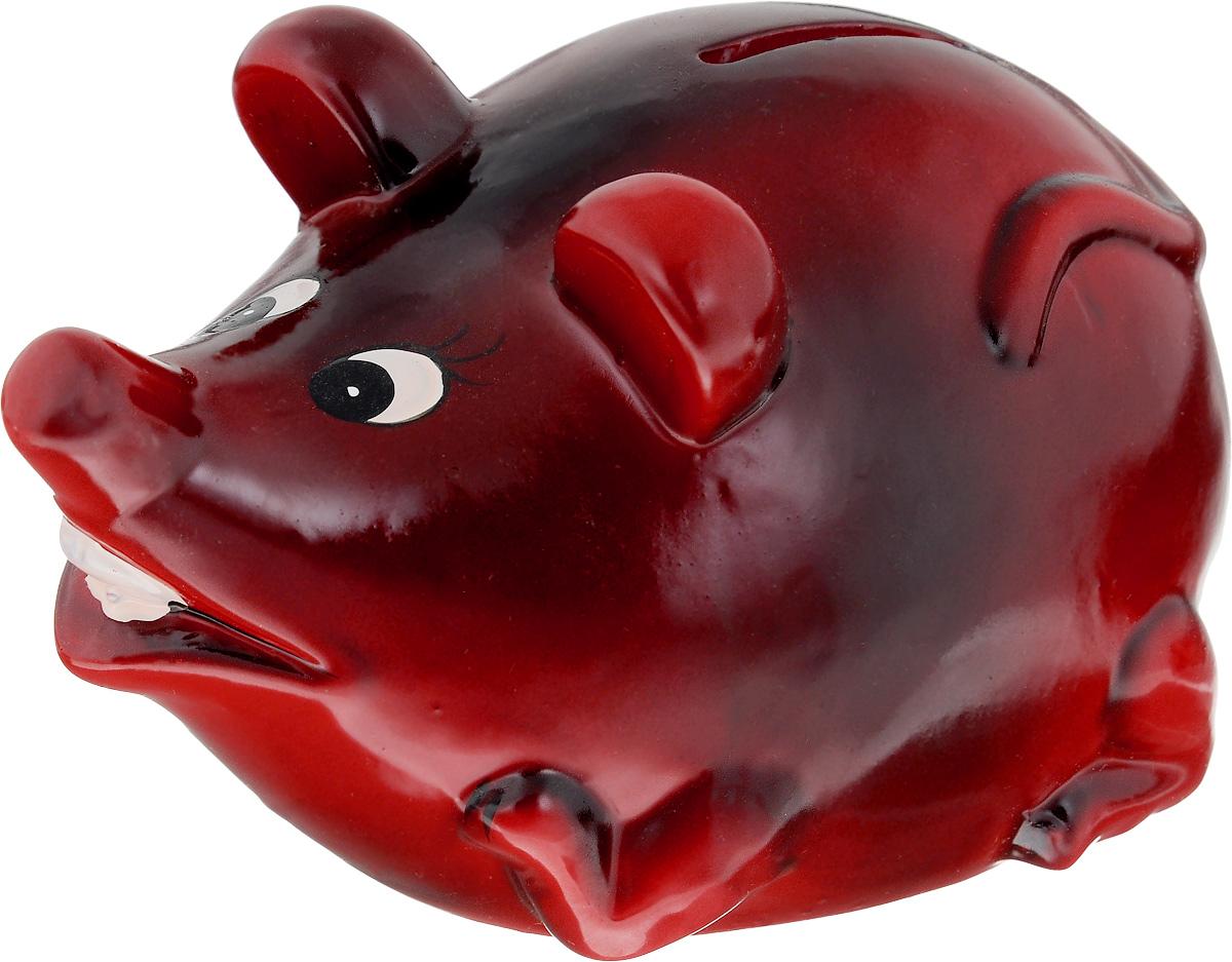 Копилка Lovemark Мышка, цвет: красныйMS4786_красныйКопилка Lovemark Мышка, изготовленная из керамики, станет отличным украшением интерьера вашего дома или офиса. Изделие оснащено отверстием для монет и удобным клапаном на дне, через который можно достать деньги. Яркий оригинальный дизайн сделает такую копилку прекрасным подарком. Она послужит не только по своему прямому назначению, но и красиво дополнит интерьер комнаты. Размер изделия: 14 х 9 х 10 см.