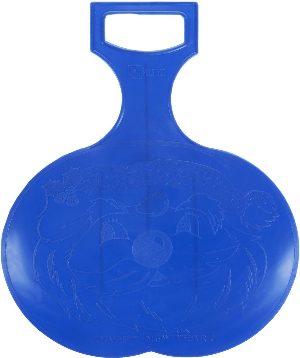 Санки-ледянки Престиж, цвет: синий, 38 х 32 см336887Любимая детская зимняя забава - это катание с горки. Яркие санки-ледянки Престиж станут незаменимым атрибутом этой веселой детской игры. Санки-ледянки - это специальная пластиковая тарелка, облегчающая скольжение и увеличивающая скорость движения по горке. Ледянка выполнена из прочного гибкого пластика и снабжена ручкой для транспортировки. Конфигурация санок позволяет удобно сидеть и развивать лучшую скорость. Благодаря малому весу ледянку, в отличие от обычных санок, легко нести с собой даже ребенку.