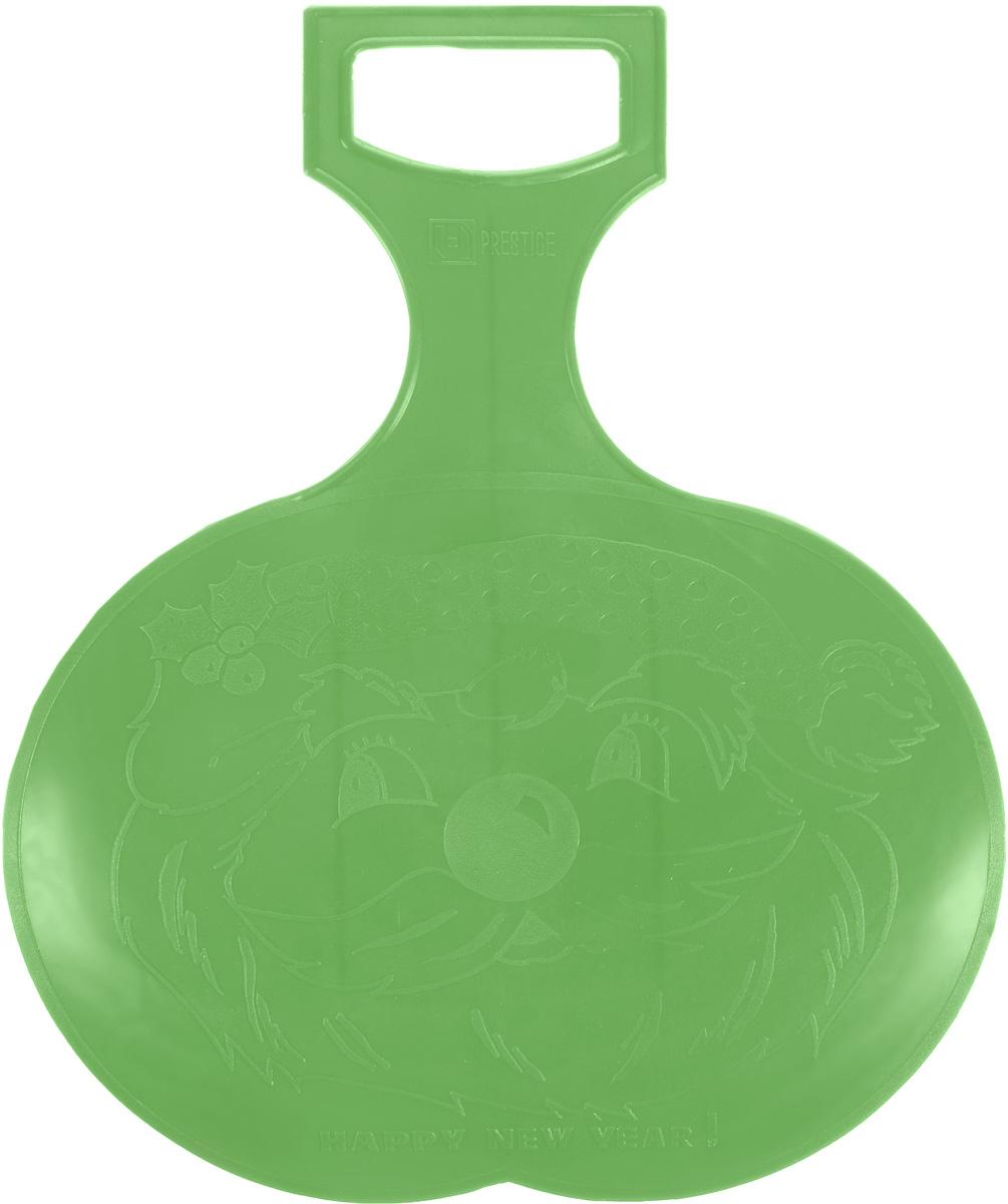 Санки-ледянки Престиж, цвет: зеленый, 38 х 32 см336891Любимая детская зимняя забава - это катание с горки. Яркие санки-ледянки Престиж станут незаменимым атрибутом этой веселой детской игры. Санки-ледянки - это специальная пластиковая тарелка, облегчающая скольжение и увеличивающая скорость движения по горке. Ледянка выполнена из прочного гибкого пластика и снабжена ручкой для транспортировки. Конфигурация санок позволяет удобно сидеть и развивать лучшую скорость. Благодаря малому весу ледянку, в отличие от обычных санок, легко нести с собой даже ребенку.
