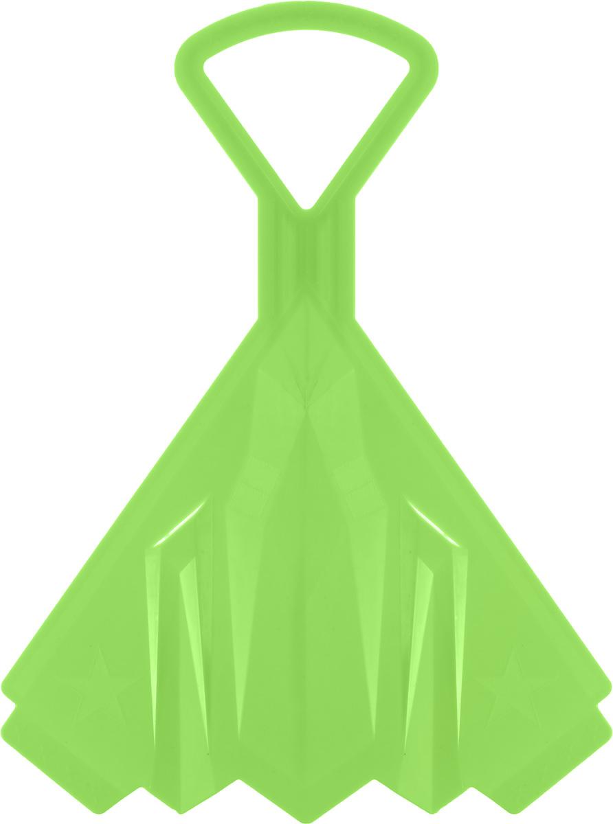 Санки-ледянки Престиж Самолет, цвет: зеленый, 42 х 32 см339806Любимая детская зимняя забава - это катание с горки. Яркие санки-ледянки Престиж Самолет станут незаменимым атрибутом этой веселой детской игры. Санки-ледянки - это специальная пластиковая тарелка, облегчающая скольжение и увеличивающая скорость движения по горке. Ледянка выполнена из прочного гибкого пластика и снабжена ручкой для переноски. Конфигурация санок позволяет удобно сидеть и развивать лучшую скорость. Благодаря малому весу ледянку, в отличие от обычных санок, легко нести с собой даже ребенку.