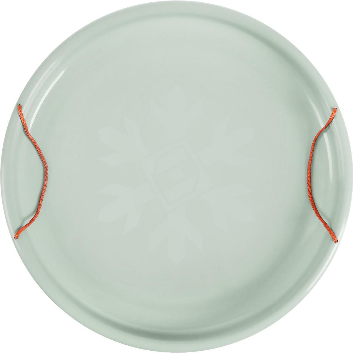 "Санки-ледянки Престиж ""Экстрим"", цвет: светло-серый, диаметр 53 см"