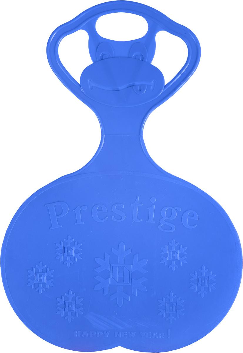 Санки-ледянки Престиж, с символикой, цвет: синий, 47 х 32 см336894Любимая детская зимняя забава - это кататься с горки. Яркие санки-ледянки Престиж станут незаменимым атрибутом этой веселой детской игры. Изделие украшено рельефной символикой. Санки-ледянки - это специальная пластиковая тарелка, облегчающая скольжение и увеличивающая скорость движения по горке. Ледянка выполнена из прочного гибкого пластика и снабжена ручкой для переноски. Конфигурация санок позволяет удобно сидеть и развивать лучшую скорость. Благодаря малому весу ледянку, в отличие от обычных санок, легко нести с собой даже ребенку.