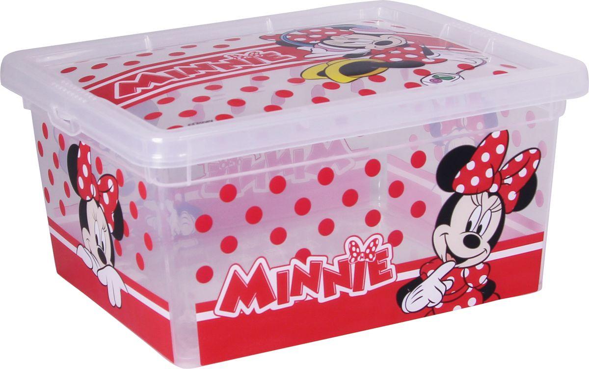 Ящик Disney Деко, цвет: белый, 18 х 15 х 9 см, 2 л. М 2355-ДМ 2355-Д