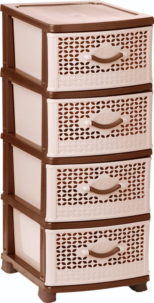 Комод Idea Рио, цвет: серый мрамор, 37,5 х 48 х 47,5 см, 4 секцииМ 2781Комод Idea Рио изготовлен из высококачественного пластика. Комод предназначен для хранения различных вещей и состоит из 4 вместительных выдвижных секций. Такой необычный комод надежно защитит вещи от загрязнений, пыли и моли, а также позволит вам хранить их компактно и с удобством. Размер комода: 37,5 х 48 х 47,5 см.