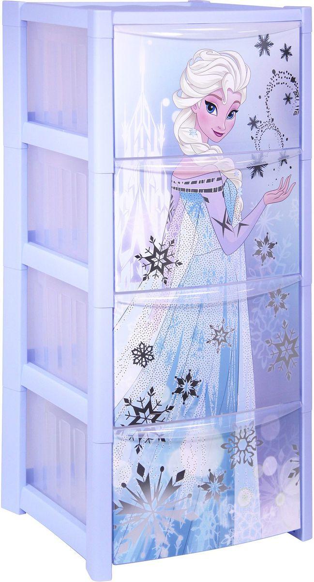 Комод «Disney», цвет: голубой, 36,3 х 37,3 х 77,3 см, 4 секции. М 2792-Д  как сделать журнальный столик своими руками чертежи