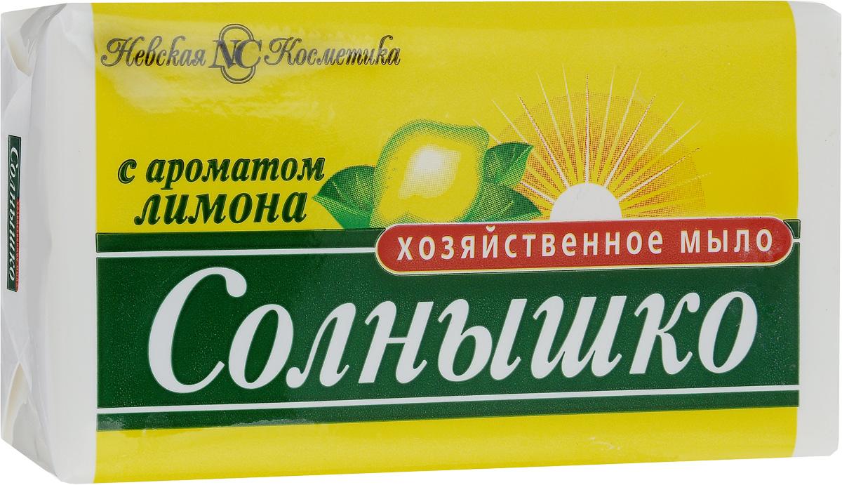 Мыло хозяйственное Солнышко, с ароматом лимона, 140 г11141Мыло хозяйственное Солнышко используется для ручной стирки, мытья рук и посуды. Подходит для замачивания и стирки мелких вещей, создает пышную пену. Придает белью свежий аромат лимона. Мыло хозяйственное кусковое легко удаляет жир с посуды, при мытье рук не вызывает раздражения кожи. Содержит не более 72% жирных кислот и большое количество щелочей. Товар сертифицирован.