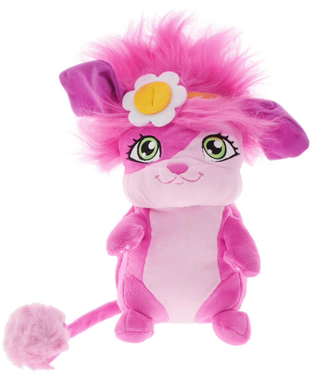 Popples Мягкая игрушка Popples цвет розовый 28 см56309_розовыйМягкая игрушка Popples - это замечательный подарок для вашего малыша. Игрушка отличается оригинальным дизайном и качественным исполнением. Она выполнена из безопасных материалов в виде очаровательной розовой зверюшки с длинным хвостиком. Игрушка дополнена сзади специальным карманом, который можно вывернуть. У зверька есть уникальная способность - с помощью этого кармашка он может буквально сворачиваться в клубочек! Очень интересная, яркая и эффектная игрушка. Зверёк станет верным другом для каждого ребенка, подарит множество приятных мгновений и непременно поднимет настроение. Эта милая и забавная игрушка обязательно понравится вашему ребенку.