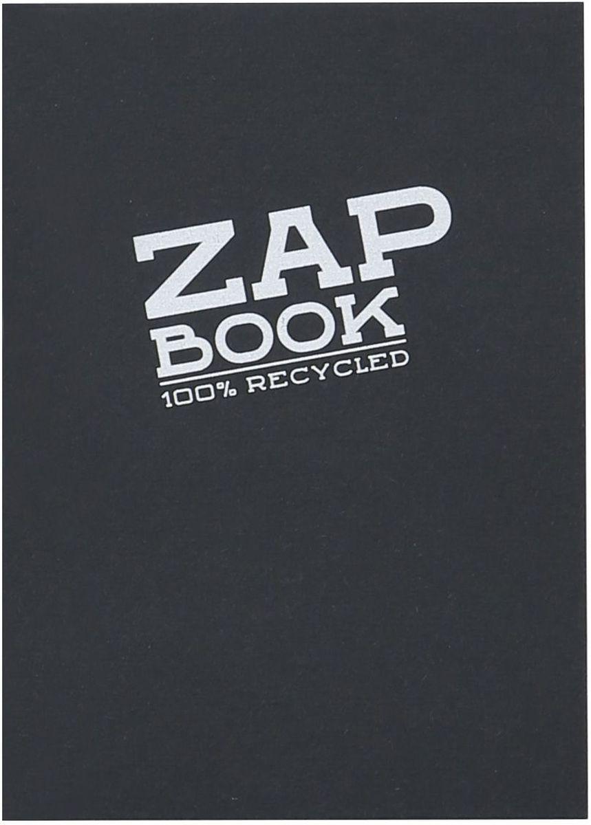 Блокнот Clairefontaine Zap Book, цвет: черный, формат A6, 160 листов. 3363С3363СОригинальный блокнот Clairefontaine идеально подойдет для памятных записей, любимых стихов, рисунков и многого другого. Плотная обложка предохраняет листы от порчи и замятия. Такой блокнот станет забавным и практичным подарком - он не затеряется среди бумаг, и долгое время будет вызывать улыбку окружающих.