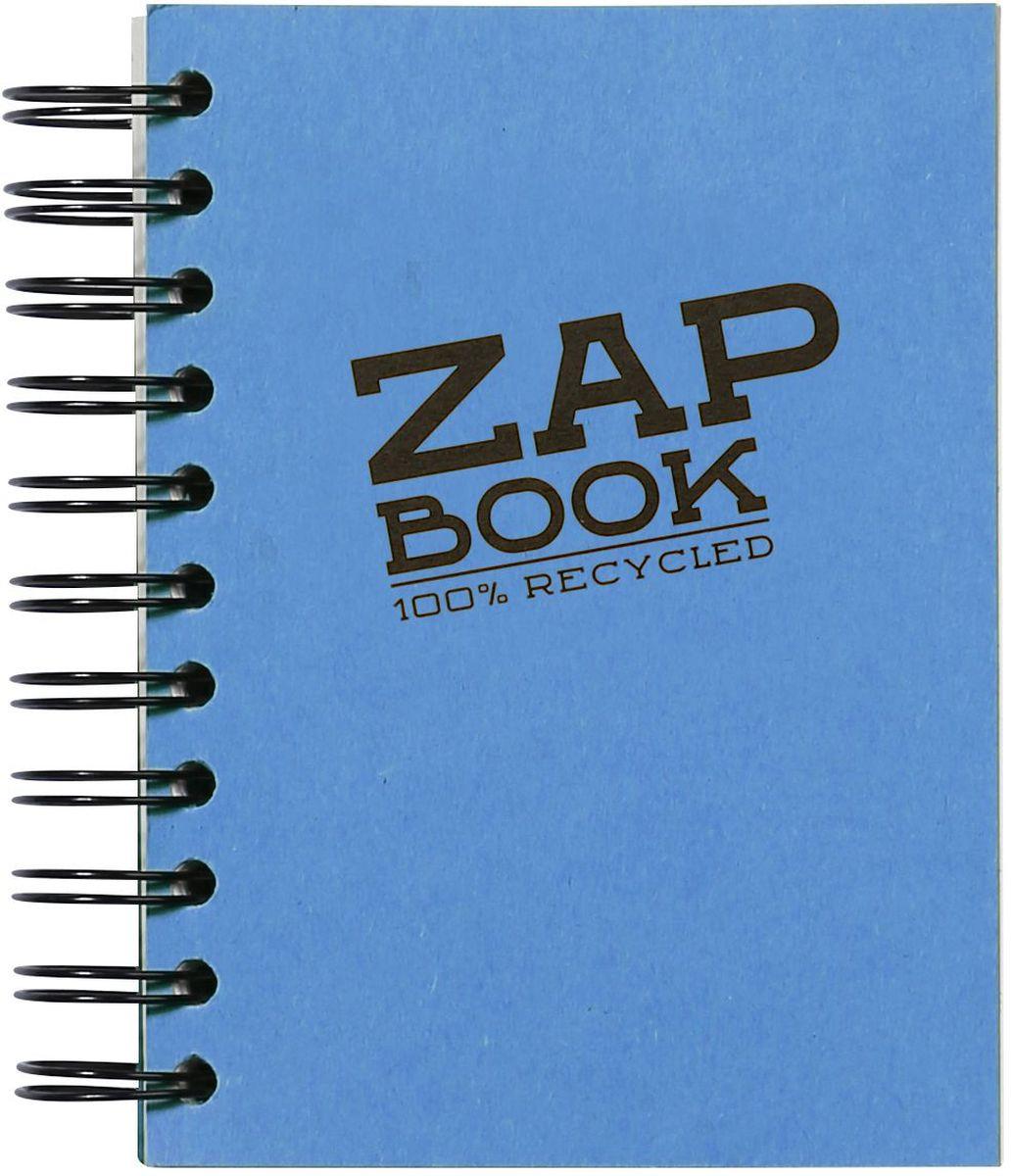 Блокнот Clairefontaine Zap Book, на спирали, цвет: синий, формат A6, 160 листов8353СОригинальный блокнот Clairefontaine идеально подойдет для памятных записей, любимых стихов, рисунков и многого другого. Плотная обложка предохраняет листы от порчи и замятия. Такой блокнот станет забавным и практичным подарком - он не затеряется среди бумаг, и долгое время будет вызывать улыбку окружающих.