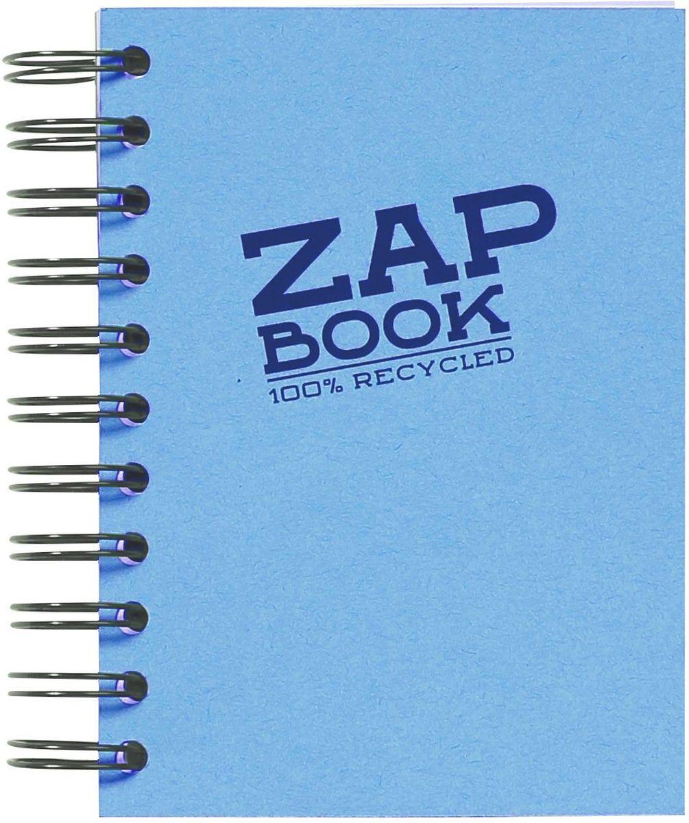 Блокнот Clairefontaine Zap Book, на спирали, цвет: голубой, формат A6, 160 листов8359СОригинальный блокнот Clairefontaine идеально подойдет для памятных записей, любимых стихов, рисунков и многого другого. Плотная обложка предохраняет листы от порчи и замятия. Такой блокнот станет забавным и практичным подарком - он не затеряется среди бумаг, и долгое время будет вызывать улыбку окружающих.