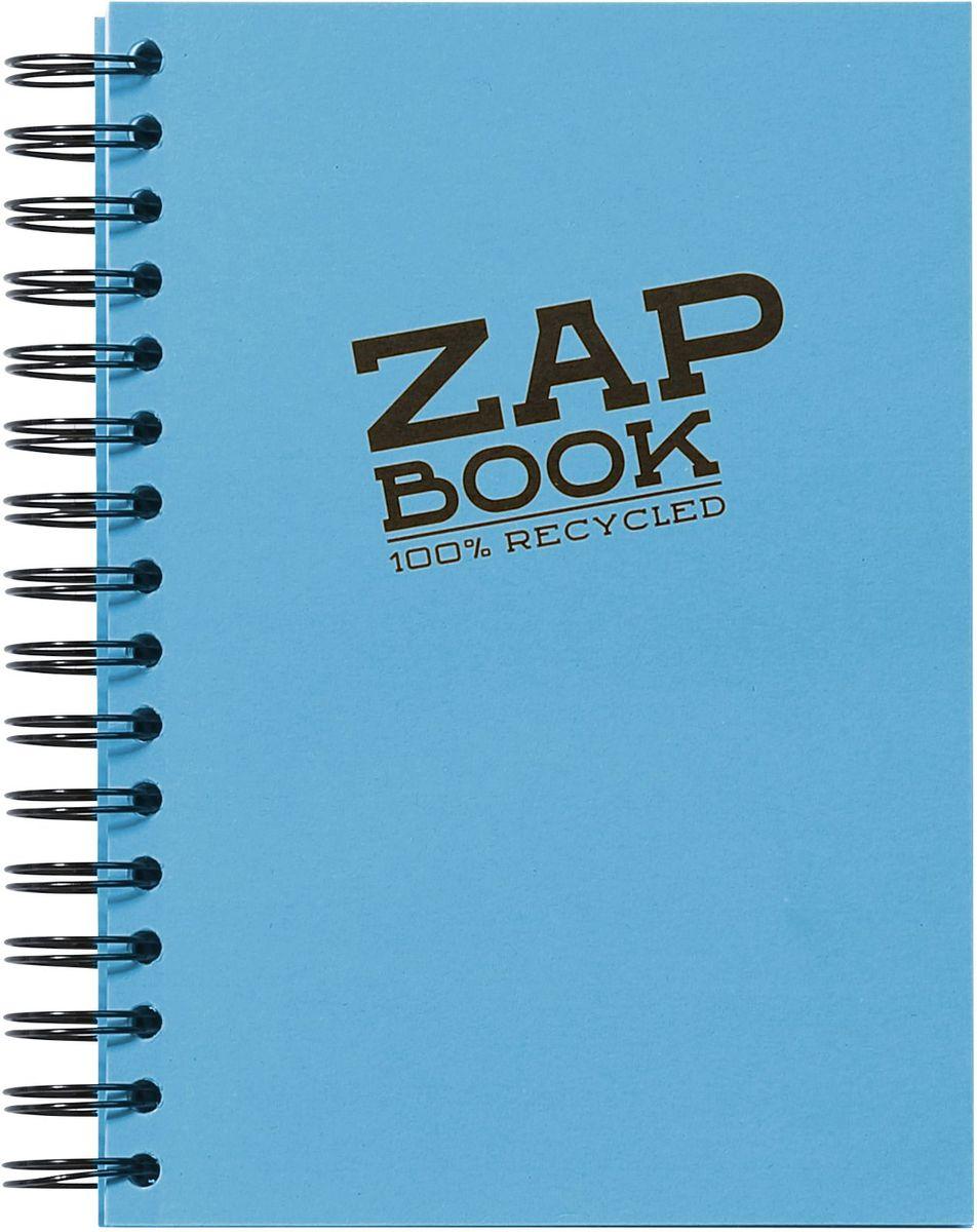 Блокнот Clairefontaine Zap Book, на спирали, цвет: голубой, формат A5, 160 листов8360СОригинальный блокнот Clairefontaine идеально подойдет для памятных записей, любимых стихов, рисунков и многого другого. Плотная обложка предохраняет листы от порчи и замятия. Такой блокнот станет забавным и практичным подарком - он не затеряется среди бумаг, и долгое время будет вызывать улыбку окружающих.