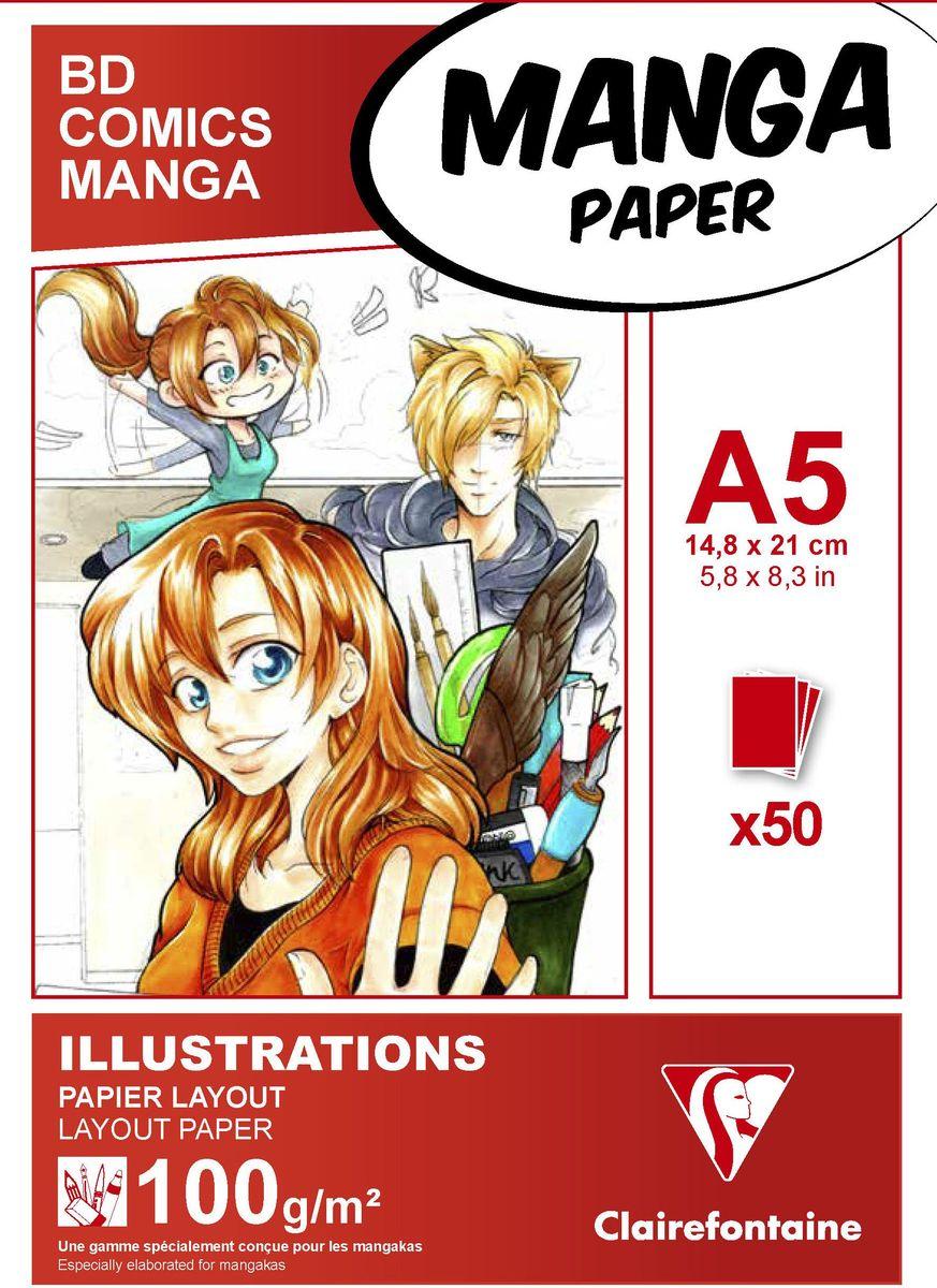 Блокнот Clairefontaine Manga, для маркеров, формат A5, 50 листов94041СОригинальный блокнот Clairefontaine идеально подойдет для памятных записей, любимых стихов, рисунков и многого другого. Плотная обложка предохраняет листы от порчи и замятия. Такой блокнот станет забавным и практичным подарком - он не затеряется среди бумаг, и долгое время будет вызывать улыбку окружающих.