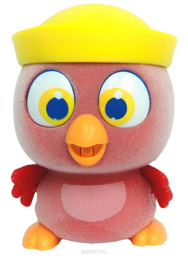 Пи-ко-ко Интерактивная игрушка Какаду в панаме22040Очаровательный Какаду в панаме приведет в восторг любого ребенка. После включения птенец начинает пищать. Если над ним громко хлопнуть в ладоши, он начнёт быстро убегать, хлопая крыльями и громко пища. Если взять его в руки и покормить из соски, входящей в набор, птенец успокоится, перестанет пищать и хлопать крыльями. После этого он начнет медленно ходить и негромко пищать, пока опять не услышит громкий звук. Для работы игрушки необходима 1 батарейка типа ААА напряжением 1,5V (не входит в комплект).