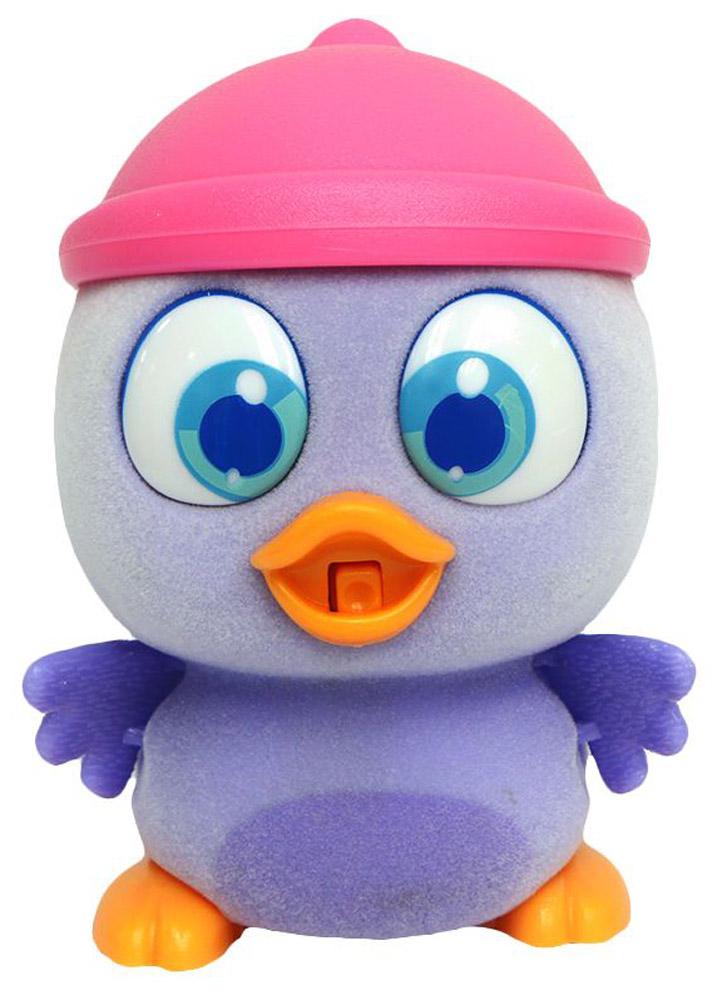 Пи-ко-ко Интерактивная игрушка Совенок в шапочке22120Интерактивная игрушка Пи-ко-ко Совенок в шапочке приведет в восторг любого ребенка. После включения птенец начинает идти, весело щебетать и махать крыльями. Стоит хлопнуть в ладони, он громко запищит и быстро начнет бежать. Если взять его в руки и покормить из бутылочки, входящей в набор, птенец успокоится и радостно зачирикает. После этого он начнет медленно ходить и щебетать, пока опять не услышит громкий звук. Необходимо купить батарейку типа AAA (не входит в комплект).