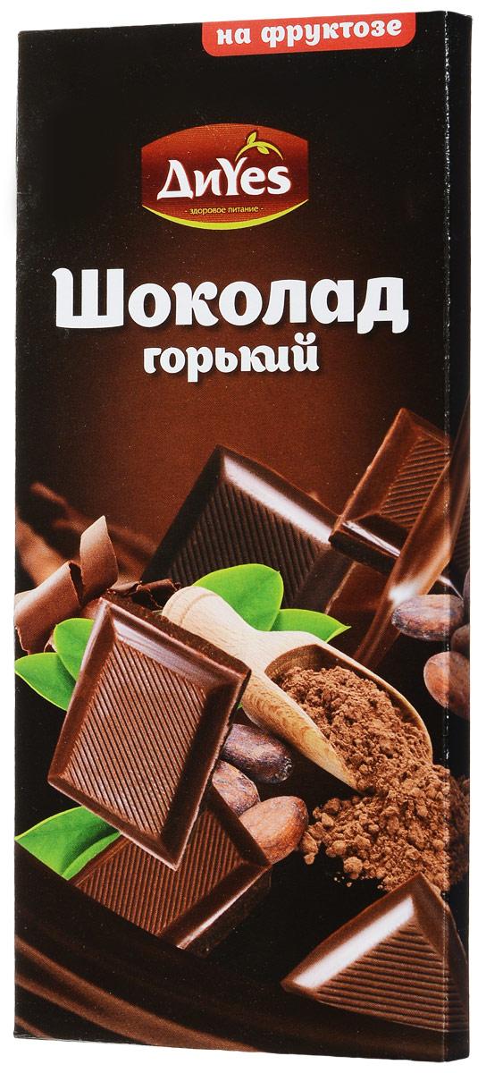 ДиYes Шоколад горький на фруктозе, 100 г4607061252018Горький шоколад ДиYes изготовлен на фруктозе. Незабываемый вкус шоколада никого не оставит равнодушным! Уважаемые клиенты! Обращаем ваше внимание, что полный перечень состава продукта представлен на дополнительном изображении.
