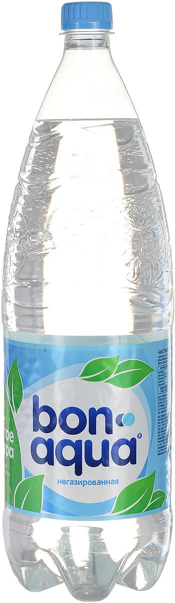 BonAqua Вода чистая питьевая негазированная, 2 л886105Bon Aqua - это кристально чистая питьевая вода, высокого качества. Bon Aqua - известная и любимая в России марка. Производство воды Bon Aqua началось в Германии в 1988 году. В России запуск питьевой воды Bon Aqua был успешно осуществлен в 1994 году. Bon Aqua проходит 7-ми ступенчатую систему очистки и водоподготовки. Производится в строгом соответствии с высочайшими стандартами качества компании Coca-Cola. Содержит минеральные элементы (Ca, Mg). Общая минерализация: 50-500 мг/л. Общая жесткость: 1,5-7 мг-экв/л. Открытую бутылку хранить в холодильнике, продукт употребить в течение 24 часов. Уважаемые клиенты! Обращаем ваше внимание, что перечень химического состава продукта представлен на дополнительном изображении.