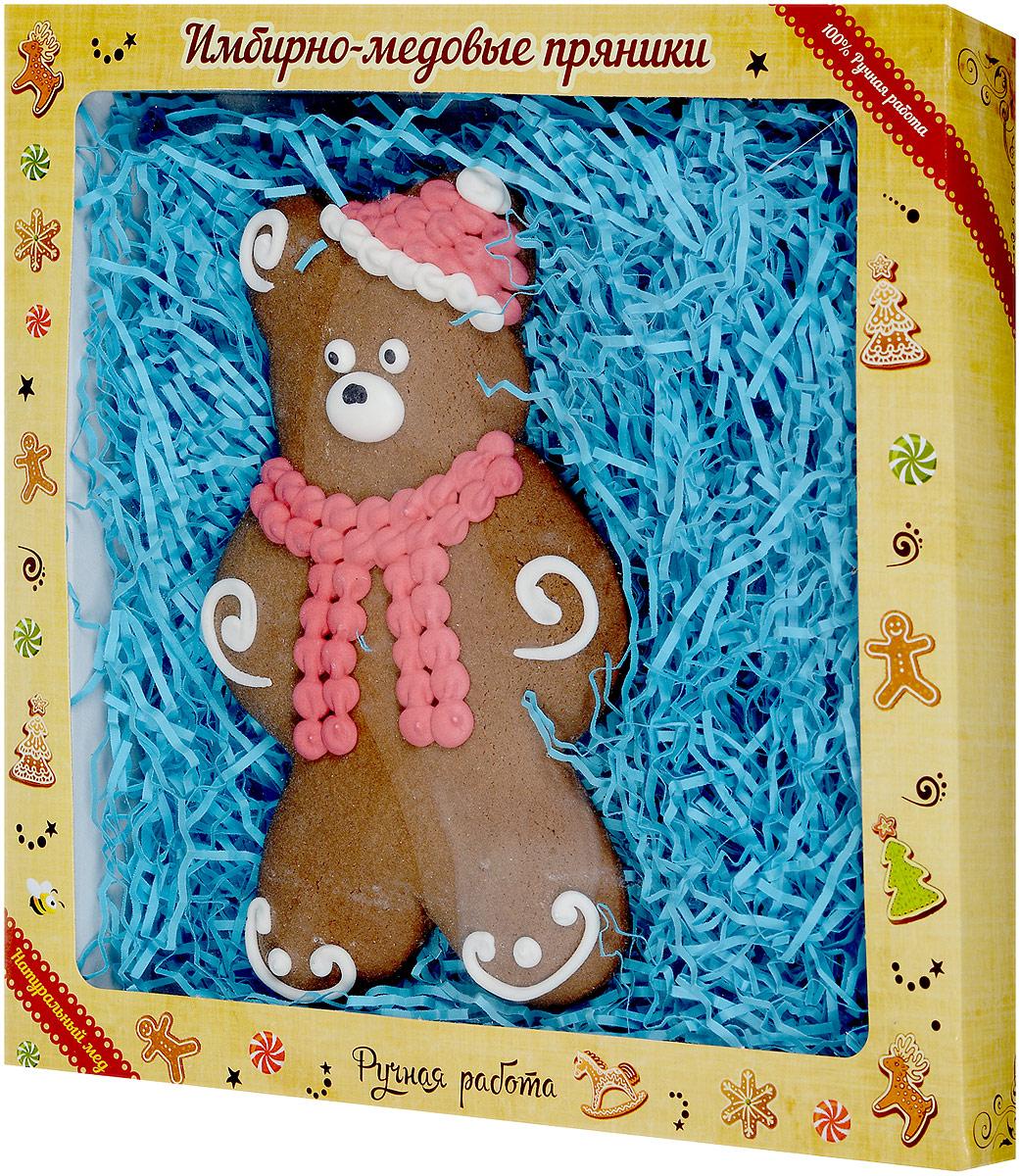 Софи Пряничный мишка ручной работы в коробке, 105 г1121При изготовлении имбирно-медового пряника Мишка используются только натуральные ингредиенты высочайшего качества в оригинальных сочетаниях. Сделанный с любовью руками мастера, этот продукт дарит тепло его души и доставит незабываемое удовольствие. Этот пряничный мишка станет отличным подарком вашим близким на Новый год или Рождество.