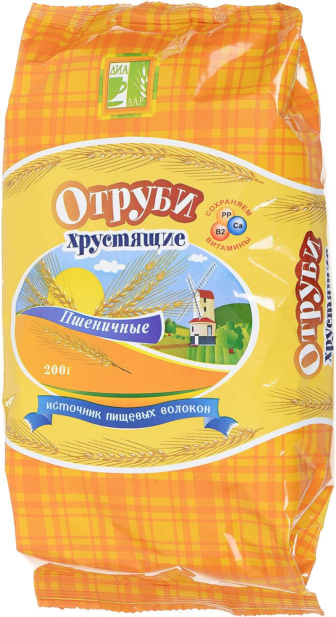 Диадар Отруби хрустящие Пшеничные, 200 г