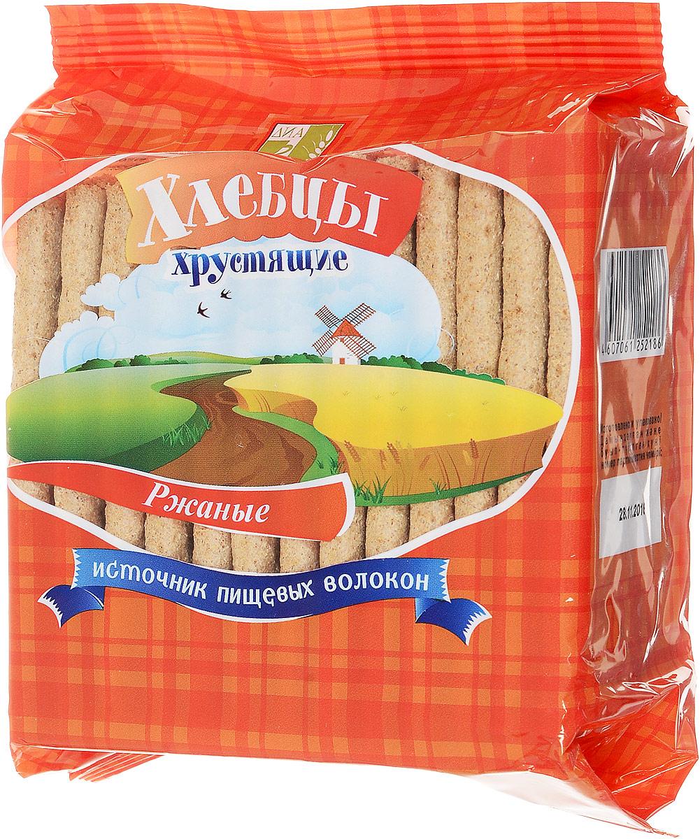 Диадар Хлебцы Ржаные, 100 г