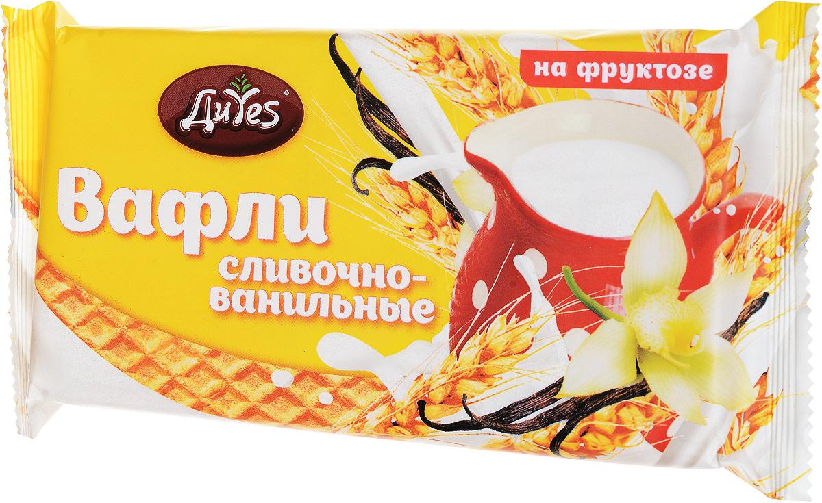 ДиYes Вафли Сливочно-ванильные на фруктозе, 90 г