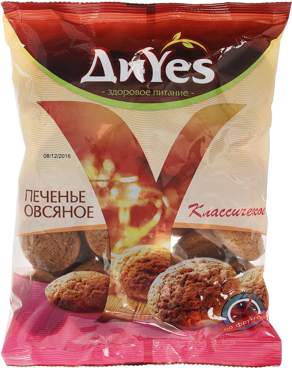 ДиYes Печенье овсяное на фруктозе, 330 г