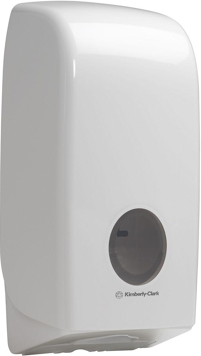 Диспенсер Aquarius, для сложенной туалетной бумаги, цвет: белый. 69466946Ассортимент диспенсеров для сложенной туалетной бумаги из скоординированной линейки диспенсеров для туалетных комнат. Диспенсеры мотивируют сотрудников соблюдать гигиенические нормы, повышают уровень комфорта, демонстрируют заботу о персонале и помогают сократить расходы. Идеальное решение, обеспечивающее подачу по одному листу без касания диспенсера, снижение риска перекрестного загрязнения и предотвращение распространения бактерий. Наше уникальное запатентованное устройство защиты от переполнения облегчает процесс заправки, помогает предотвратить заминание продукта и снижает объем отходов Формат поставки: диспенсер современного дизайна, обтекаемой формы, обеспечивающий быструю заправку; белое глянцевое, легко очищаемое покрытие; отсутствие мест скопления пыли и грязи; смотровое окно для контроля за расходными материалами; возможность выбора цветовых вставок в соответствие с интерьером конкретных туалетных комнат. Замена диспенсера 6975. Совместим с туалетной бумагой: 8035, 8036,...
