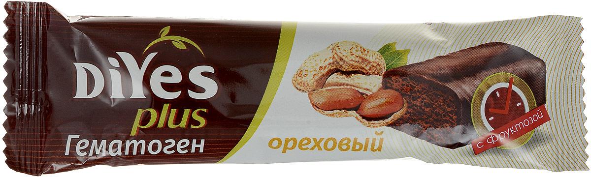 Батончик Гематоген DiYes plus производится на основе тщательно отобранных ингредиентов и содержит комплекс из 7 витаминов и минералов. В отличии от привычного гематогена, текстура Гематогена DiYes более мягкая и нежная, не имеет металлического послевкусия. Придется по вкусу ребенку и станет полезной альтернативой обычному шоколадному батончику.