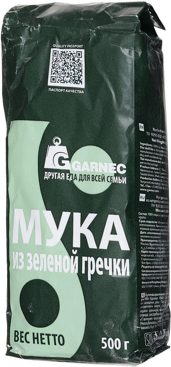 Гарнец Мука из зеленой гречки, 500 г