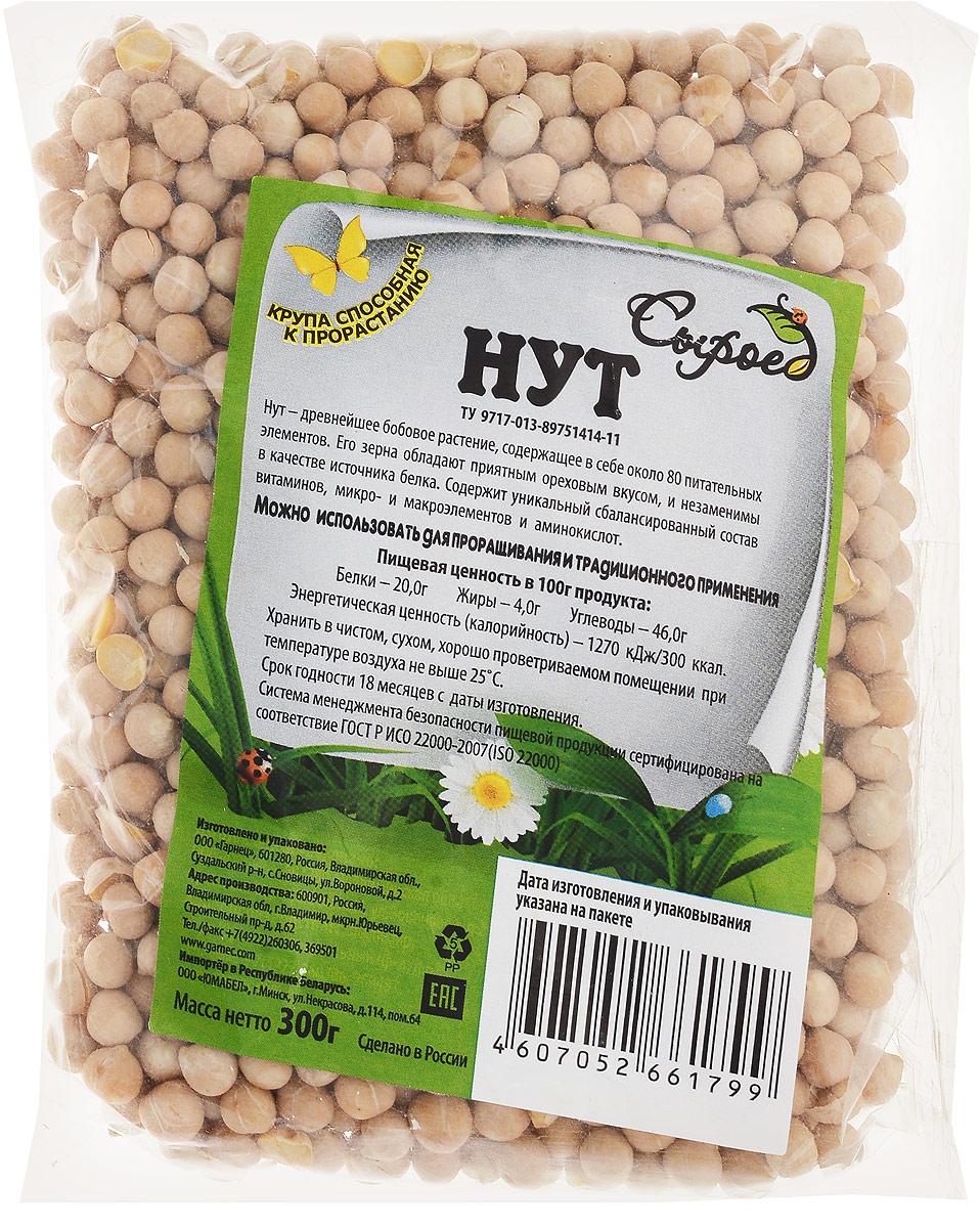 """Нут является биологически ценным диетическим продуктом питания. Сегодня """"турецкий горох"""" одна из наиболее распространенных бобовых культур в мире. Зерно нута содержит до 30% белка, который по качеству приближается к яичному, до 8% масла, 50-60% углеводов, 2-5% минеральных веществ, много витаминов: А, В1, В2, ВЗ, С, В6, PP. Благодаря высокой питательности, нут можно употреблять вместо мяса, как делают это многие люди во время поста. Такая диета служит профилактикой заболеваний сердца и сосудов. Благодаря высокому содержанию клетчатки, нут улучшает пищеварение, благотворно влияет на работу сердца, а также регулирует уровень сахара в крови. Турецкий горох снабжает организм энергией, которая используется постепенно, не увеличивая уровень сахара в крови."""