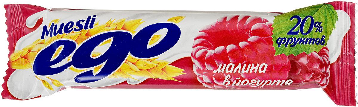 Ego Батончик мюсли со вкусом Малина в йогурте, 25 г4607061252537Батончики мюсли Ego - это новое поколение диетических продуктов, концентрированный набор крупноволокнистой пищи, витаминов и микроэлементов. Они изготавливаются из пшеничных и овсяных хлопьев, экструдированной кукурузы и риса, различных фруктов, семян подсолнечника, орехов и мальтозного сиропа. Прекрасно подходят для диетического питания. Уважаемые клиенты! Обращаем ваше внимание, что полный перечень состава продукта представлен на дополнительном изображении.