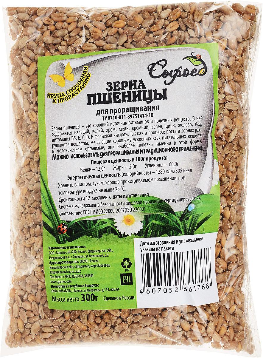 Гарнец Зерна для проращивания Пшеница, 300 г