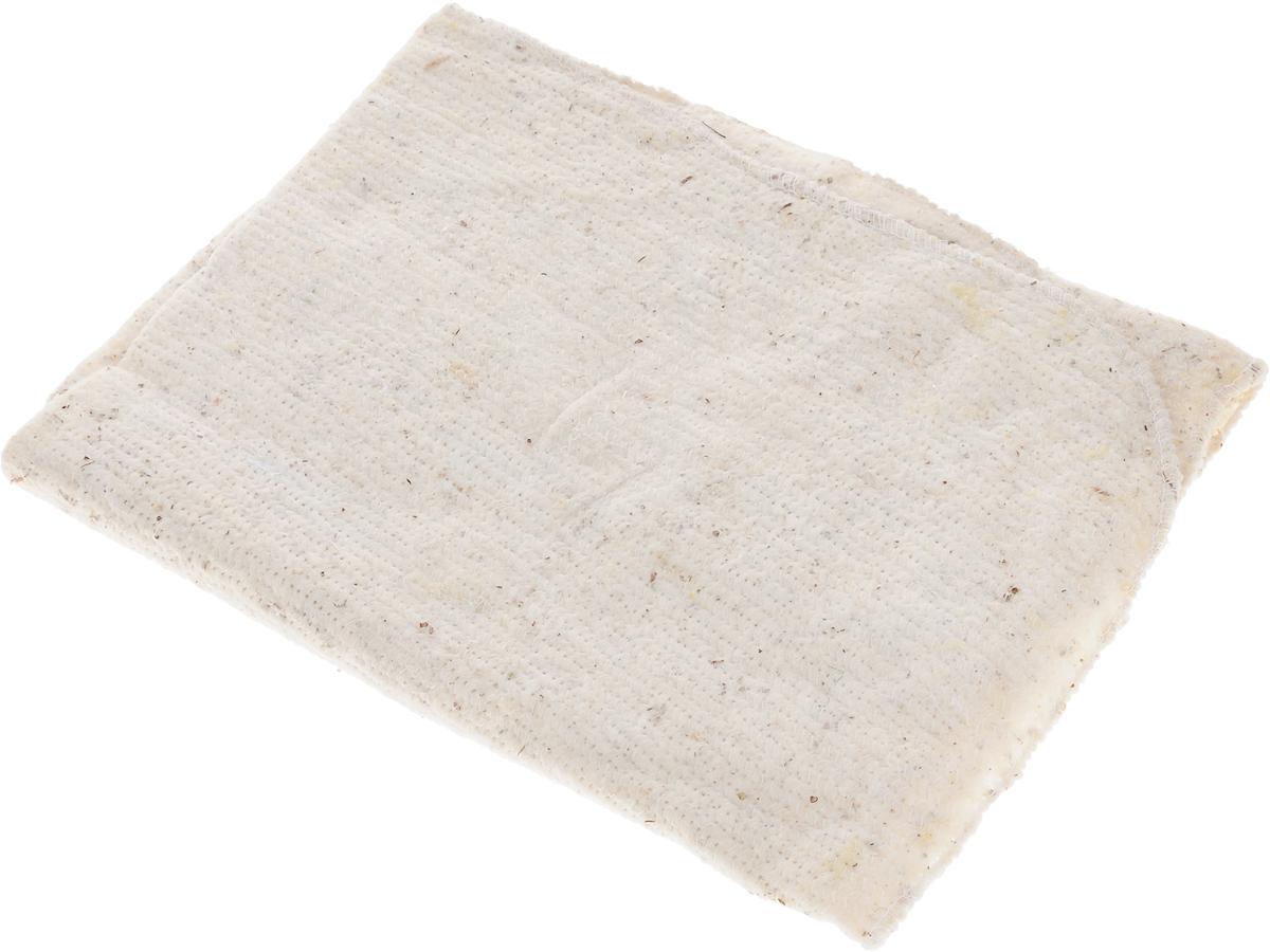 Тряпка для пола LarangE Традиция, оверлоченная, 50 х 60 см625-402Тряпка LarangE Традиция выполнена из 100% хлопка и предназначена для мытья напольных покрытий из любых материалов. Эффективно очищает любую поверхность, отлично отжимается и имеет долгий срок службы. Применяется для влажной и сухой уборки.