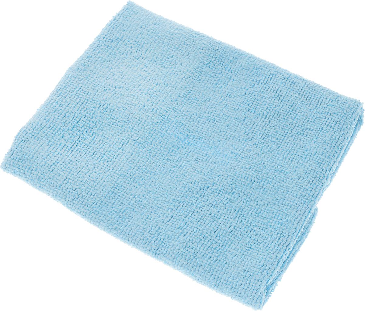 Салфетка LarangE, супервлаговпитывающая, универсальная, цвет: голубой, 30 х 30 см625-302Салфетка LarangE, изготовленная из полиамида и полиэфира, предназначена для очищения загрязнений на любых поверхностях. Изделие обладает высокой износоустойчивостью и рассчитано на многократное использование, легко моется в теплой воде с мягкими чистящими средствами. Впитывающая салфетка не оставляет разводов и ворсинок, идеальна для стеклянных и блестящих поверхностей, удаляет большинство жирных и маслянистых загрязнений без использования химических средств. Не царапает поверхность и впитывает гораздо больше воды, чем обычная ткань. Подходит для сухой и влажной уборки. Материал: 20% полиамид, 80% полиэстер.