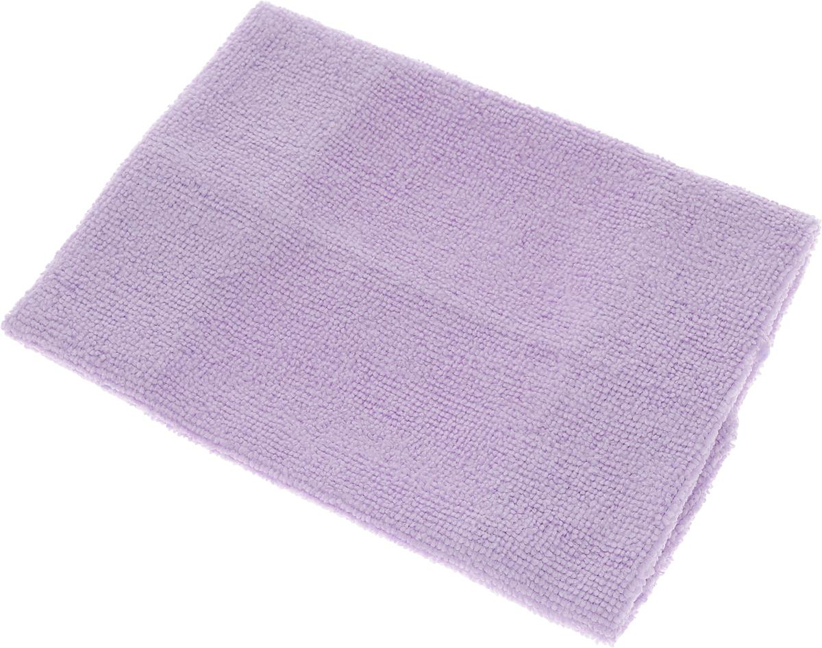 Салфетка LarangE, супервлаговпитывающая, универсальная, цвет: сиреневый, 30 х 30 см625-301Салфетка LarangE, изготовленная из полиамида и полиэфира, предназначена для очищения загрязнений на любых поверхностях. Изделие обладает высокой износоустойчивостью и рассчитано на многократное использование, легко моется в теплой воде с мягкими чистящими средствами. Впитывающая салфетка не оставляет разводов и ворсинок, идеальна для стеклянных и блестящих поверхностей, удаляет большинство жирных и маслянистых загрязнений без использования химических средств. Не царапает поверхность и впитывает гораздо больше воды, чем обычная ткань. Подходит для сухой и влажной уборки. Материал: 20% полиамид, 80% полиэстер.