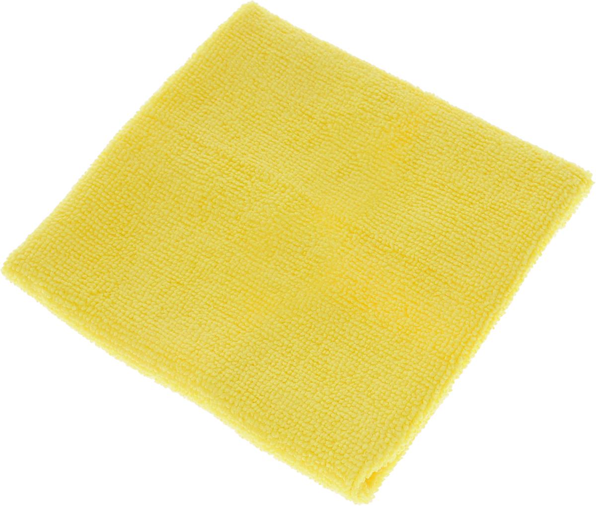Салфетка LarangE, супервлаговпитывающая, универсальная, цвет: желтый, 30 х 30 см625-303Салфетка LarangE, изготовленная из полиамида и полиэфира, предназначена для очищения загрязнений на любых поверхностях. Изделие обладает высокой износоустойчивостью и рассчитано на многократное использование, легко моется в теплой воде с мягкими чистящими средствами. Впитывающая салфетка не оставляет разводов и ворсинок, идеальна для стеклянных и блестящих поверхностей, удаляет большинство жирных и маслянистых загрязнений без использования химических средств. Не царапает поверхность и впитывает гораздо больше воды, чем обычная ткань. Подходит для сухой и влажной уборки. Материал: 20% полиамид, 80% полиэстер.