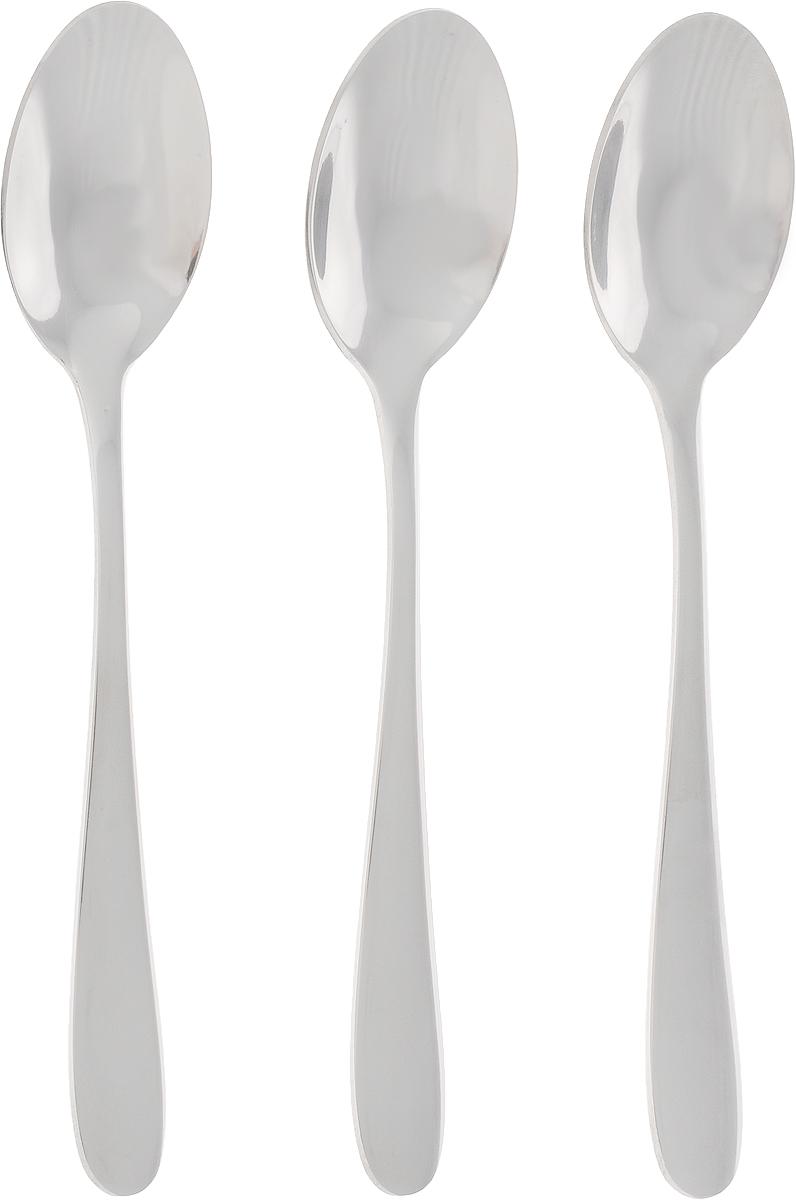 Набор чайных ложек Marvel, 3 шт814Набор Marvel состоит из 3 чайных ложек, изготовленных из высококачественной стали. Благодаря идеальной обработке и прекрасному дизайну, столовые приборы изысканно дополнят сервировку стола. Длина ложки: 14,2 см. Размер рабочей части: 4,5 х 2,8 см.
