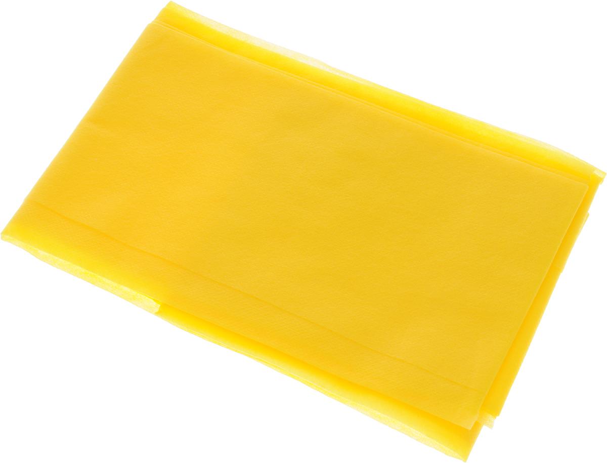 Скатерть LarangE От Шефа. Пикник, одноразовая, цвет: желтый, 110 х 140 см625-451Одноразовая скатерть LarangE От Шефа. Пикник изготовлена из полипропилена. Предназначена для украшения стола, для проведения пикников и мероприятий. Нетканый материал препятствует образованию следов от горячей посуды. Скатерть LarangE От Шефа. Пикник - идеальное решение для дома или дачи. Размер скатерти: 110 х 140 см.