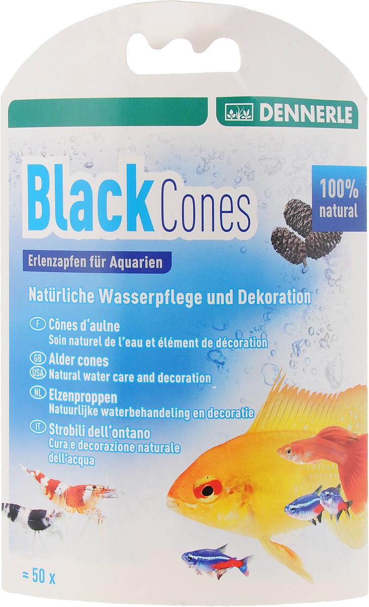 Сережки ольховые Dennerle Black Cones Erlenzapfen, 50 штDEN2748Ольховые сережки Dennerle Black Cones Erlenzapfen предназначены для аквариумной воды со свойствами, аналогичными природной среде обитания. Изделия способствуют хорошему самочувствию, увеличению жизненных сил и нересту. Препятствует возникновению грибковых заболеваний рыб и икры. Мягко подкисляет воду и стабилизирует рН. Особенно рекомендуется для рыбы из регионов с черной водой, например, дискусов, неонов, скалярий, карликовых цихлид, пимелодовых сомов. Количество: 50 шт. Товар сертифицирован.