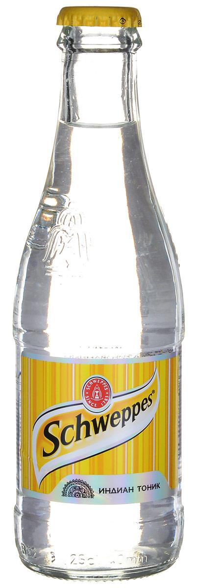 Schweppes Индиан Тоник напиток сильногазированный, 0,25 л305802Schweppes Индиан Тоник - классический представитель марки, напиток с хинином, изобретенный в период британского правления в колониальной Индии. Хинин - экстракт из коры хинного дерева с сильным горьким вкусом. Уважаемые клиенты! Обращаем ваше внимание на то, что упаковка может иметь несколько видов дизайна. Поставка осуществляется в зависимости от наличия на складе. Уважаемые клиенты! Обращаем ваше внимание, что полный перечень состава продукта представлен на дополнительном изображении.