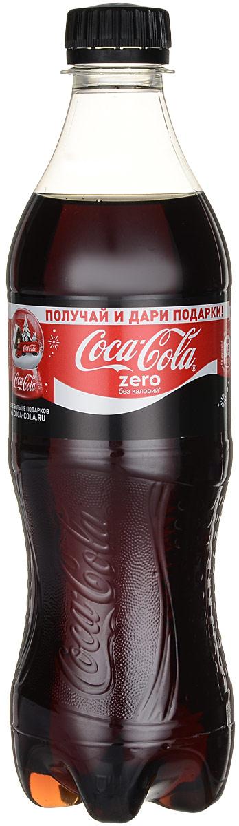Coca-Cola Zero напиток сильногазированный, 0,5 л 225237