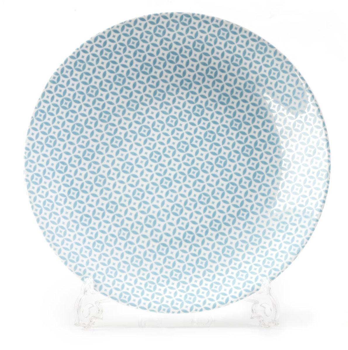Тарелка La Rose des Sables Витон, цвет: голубой, диаметр 27 см720127 2303