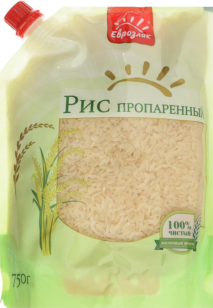 Еврозлак рис пропаренный, 750 г