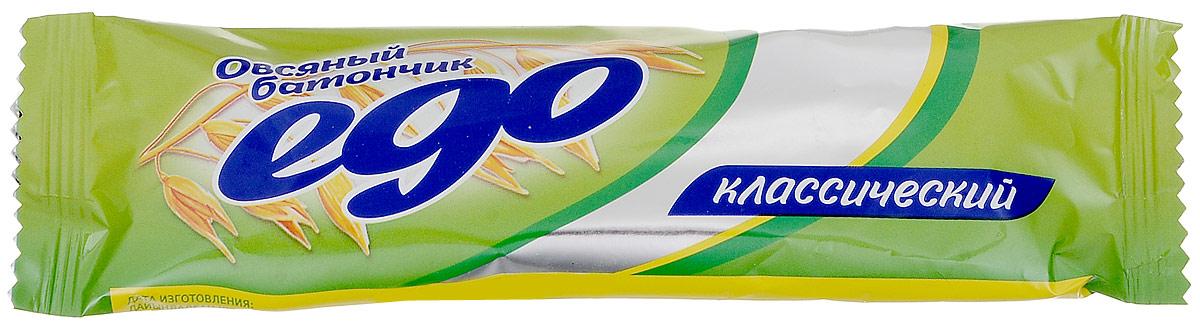 Ego Батончик овсяный Классический, 35 г4607061253299Овсяный батончик Ego Классический отлично подойдет в качестве легкого и полезного перекуса на каждый день. Продукт содержит множество полезных витаминов и микроэлементов. Уважаемые клиенты! Обращаем ваше внимание, что полный перечень состава продукта представлен на дополнительном изображении.