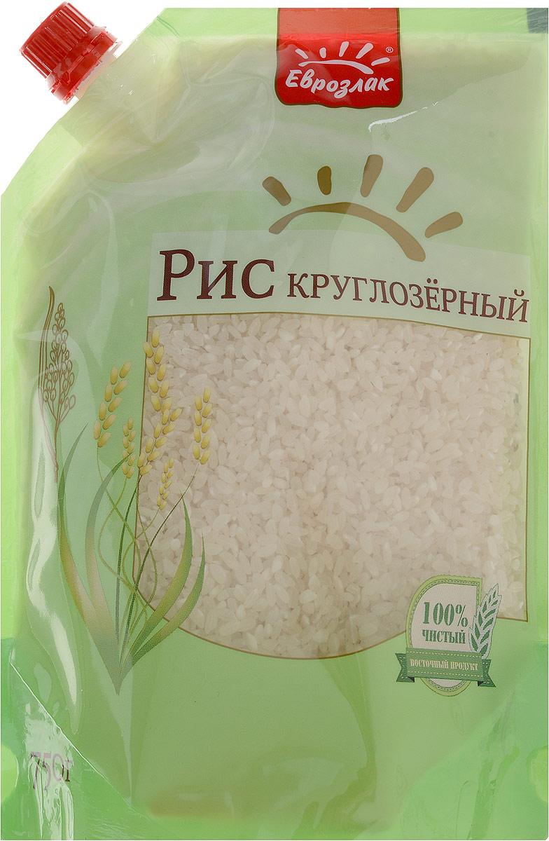 Еврозлак рис круглозерный, 750 г4607114150193Круглозерный рис Еврозлак - очень популярный в России вид белого шлифованного риса с непрозрачными зернами овальной формы, славящийся превосходным вкусом и минимальным временем приготовления Молочный цвет и однородность зерен свидетельствуют о правильной обработке и хранении риса Еврозлак Круглозерный рис хорошо разваривается, становится нежным и мягким в готовых блюдах, отлично подходит для каш и супов, пудингов и пирогов, а также, благодаря клейкости, для суши. Упаковка дой-пак герметична, что обеспечивает не только повышенный срок хранения, но и предотвращает попадание внутрь влаги и других нежелательных компонентов. Продукты в этой упаковке компактно размещаются в хозяйственном шкафу, содержимое вскрытого пакета не просыпается, а дозатор позволяет рационально использовать содержимое.