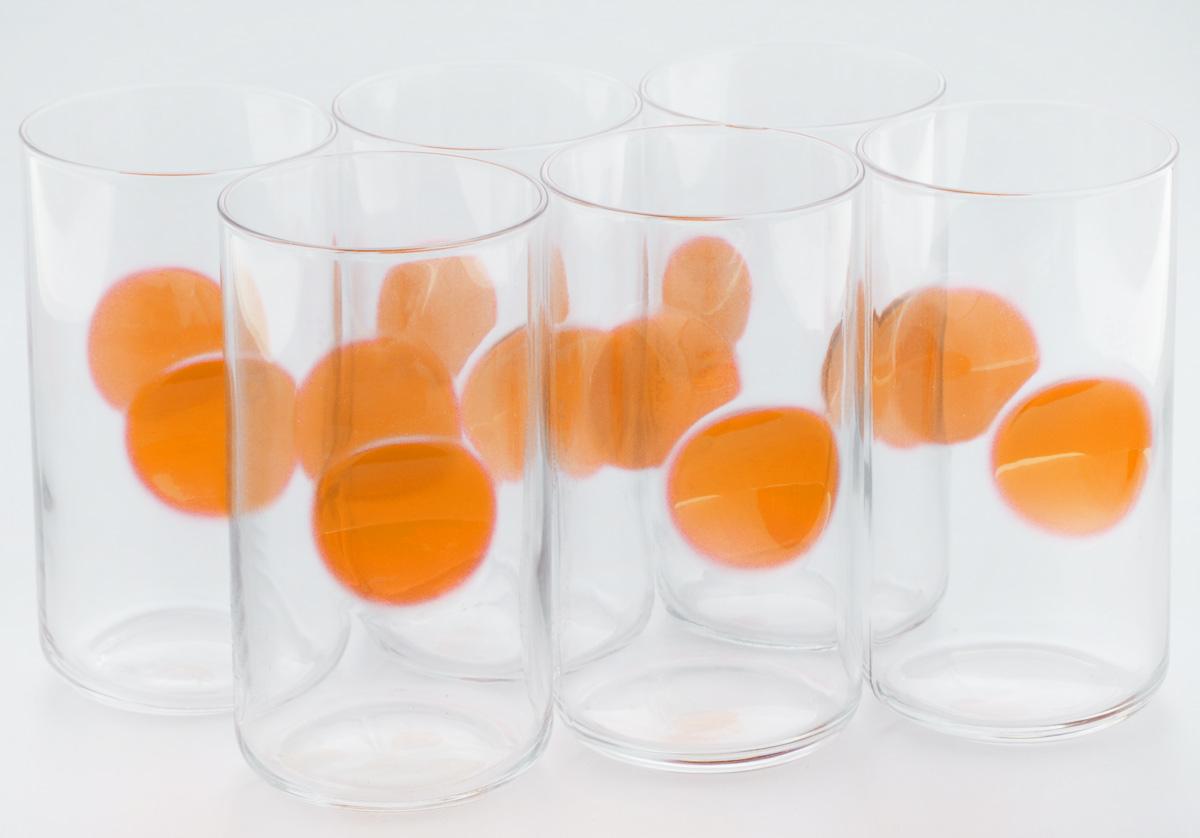 Набор стаканов Bormioli Rocco Джиове, цвет: оранжевый, 6 шт390710M02321731Набор Bormioli Rocco Джиове, выполненный из стекла, состоит из 6 высоких стаканов и предназначен для подачи холодных напитков. Изделия имеют оригинальную коллекцию современной формы и необычной геометрии. Набор стаканов Bormioli Rocco Джиове станет идеальным украшением праздничного стола и отличным подарком к любому празднику. Объем стакана: 497 мл. Диаметр стакана по верхнему краю: 7,5 см. Высота стакана: 14,5 см.