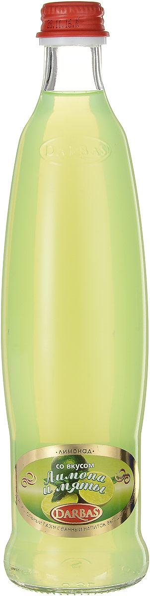 Darbas Лимон-мята лимонад, 0,5 л4850007020251Лимонад Darbas Лимон-мята - безалкогольный газированный напиток высшего качества. Освежающий и ароматный лимонад утоляет жажду в летние дни, поднимает настроение и дарит легкость. Уважаемые клиенты! Обращаем ваше внимание, что полный перечень состава продукта представлен на дополнительном изображении.