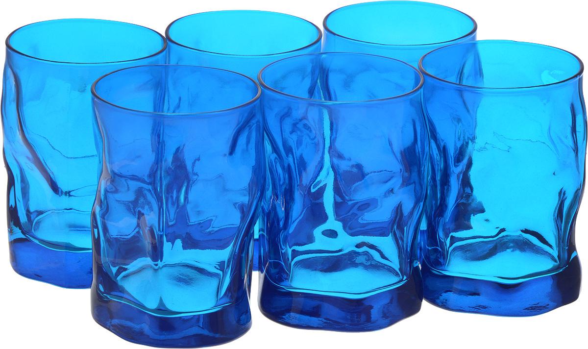 Набор стаканов Bormioli Rocco Сордженте Аква, цвет: голубой, 6 шт340420MP1321706Набор Bormioli Rocco Сордженте Аква выполнен из стекла, состоит из 6 невысоких стаканов. Стаканы предназначены для холодных напитков. С внутренней стороны поверхность стаканов рельефная, что создает эффект игры и преломления. Стаканы Bormioli Rocco Сордженте Аква станут идеальным украшением праздничного стола и отличным подарком к любому празднику. Объем стакана: 300 мл. Диаметр стакана по верхнему краю: 7 см. Высота стакана: 10,5 см.
