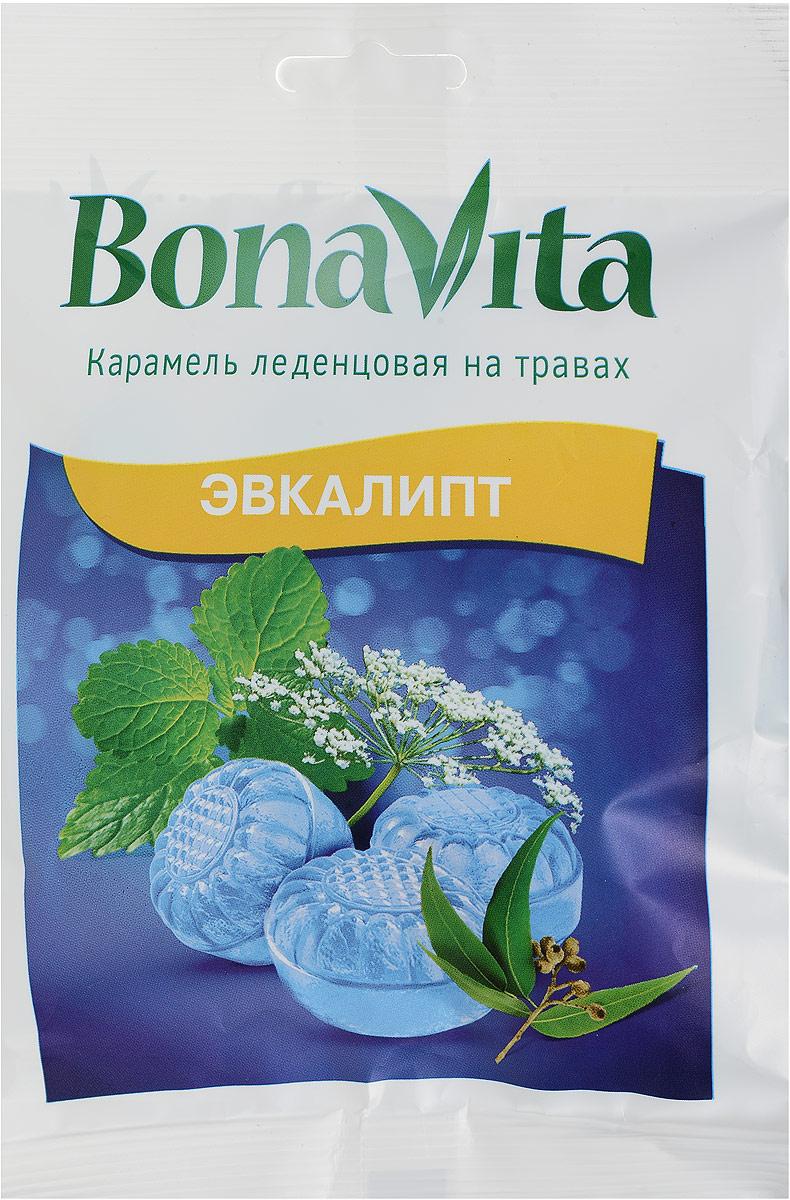 Bona Vita Карамель леденцовая Эвкалипт на травах, 60 г4607061252872Одно из самых эффективных и классических сочетаний масел в борьбе с воспалением в дыхательных путях - сочетание масел эвкалипта и перечной мяты. В состав леденцовой карамели также добавлено масло семян аниса, обладающее отхаркивающим, антисептическим и противовоспалительным действием. Почувствуйте баланс вкуса и пользы природных масел в этой леденцовой карамели! Уважаемые клиенты! Обращаем ваше внимание, что полный перечень состава продукта представлен на дополнительном изображении.